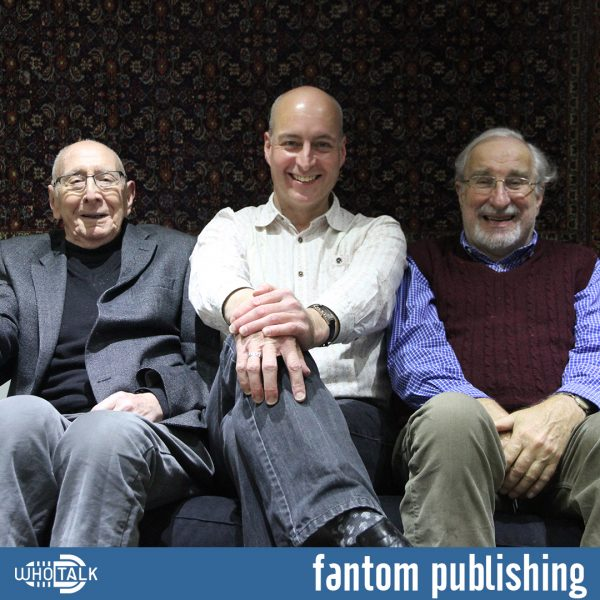 Trevor Baxter, Nicholas Pegg & Christopher Benjamin