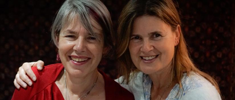Rona Munro & Sophie Aldred